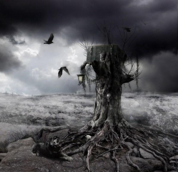 Mysterious Dark Landscape