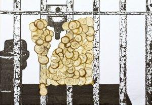 Zelle mit Limone