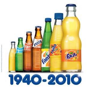 botella Fanta