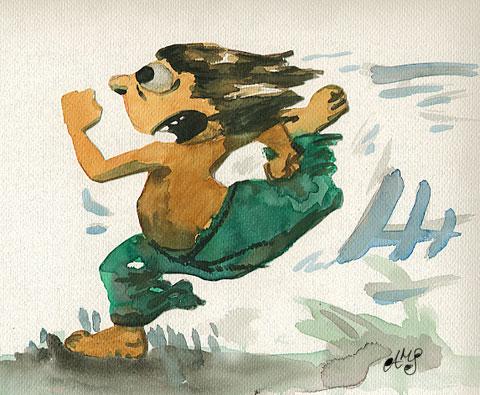 Calvino escapa