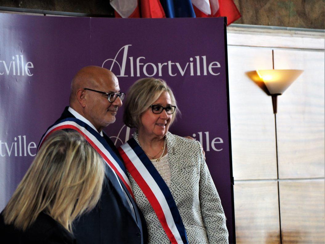 Mme Catherine de Rasilly, 15ème adjointe au maire d'Alfortville en charge de la Politique de la ville