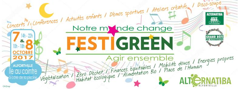 Alfortville Alternatiba FestiGreen 7 et 8 octobre 2017