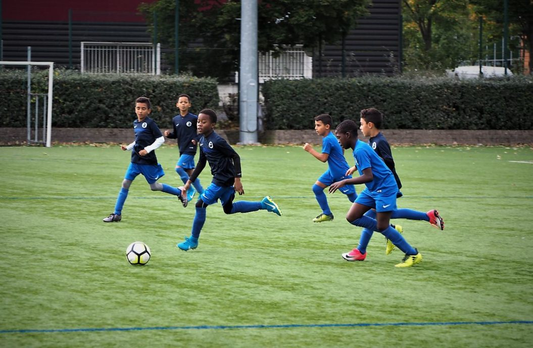Alfortville US Football rencontre Football club Cheminots Villeneuvois