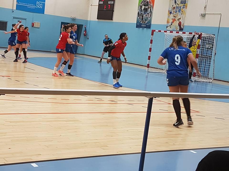 Hand Ball féminin US Alfortville rencontre à domicile STELLA Sport Saint Maur HB