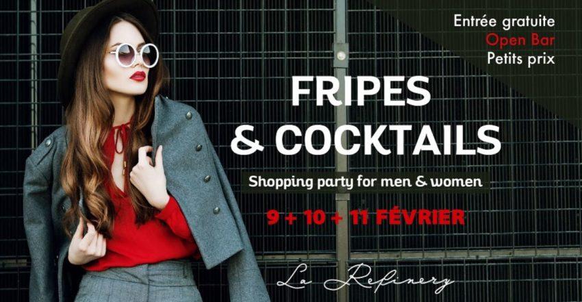 La Refinery vente éphémère à Paris fripes vêtements et accessoires vintages
