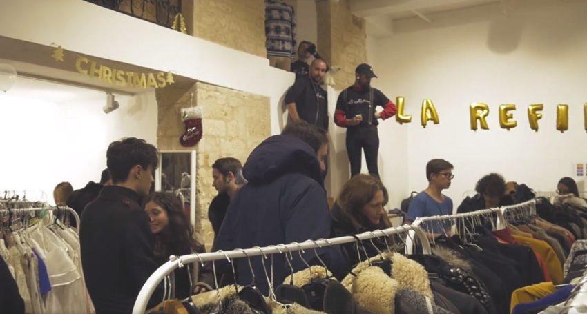 Vente vêtements et accessoires vintages La Refinery