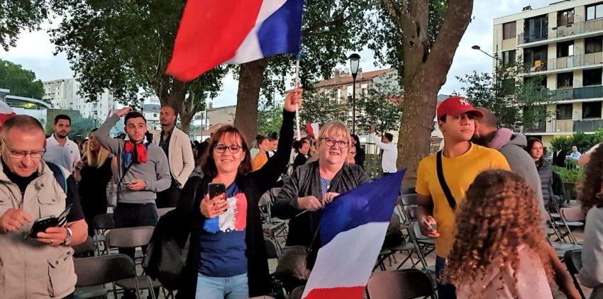 Alfortville tous supporteurs de l'équipe de France de Football. FIFA 2018