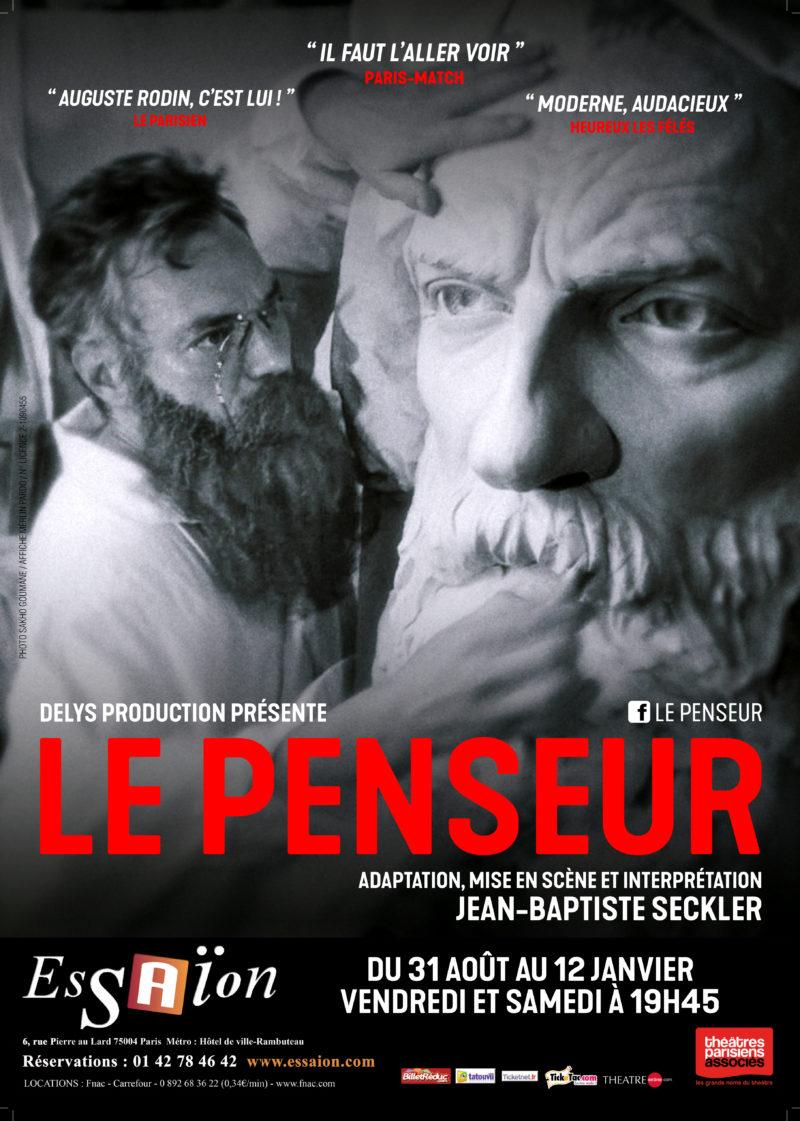 Le Penseur Essaion Théâtre