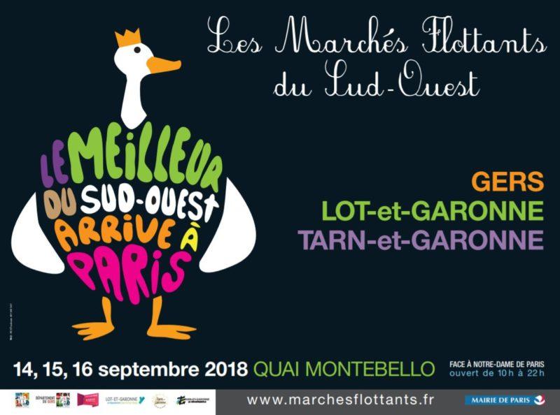 Paris Marchés Flottants du Sud Ouest