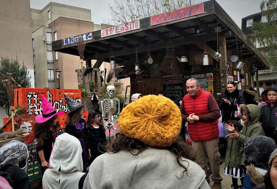 Le Jardin Rosa Parks Alfortville fête Halloween