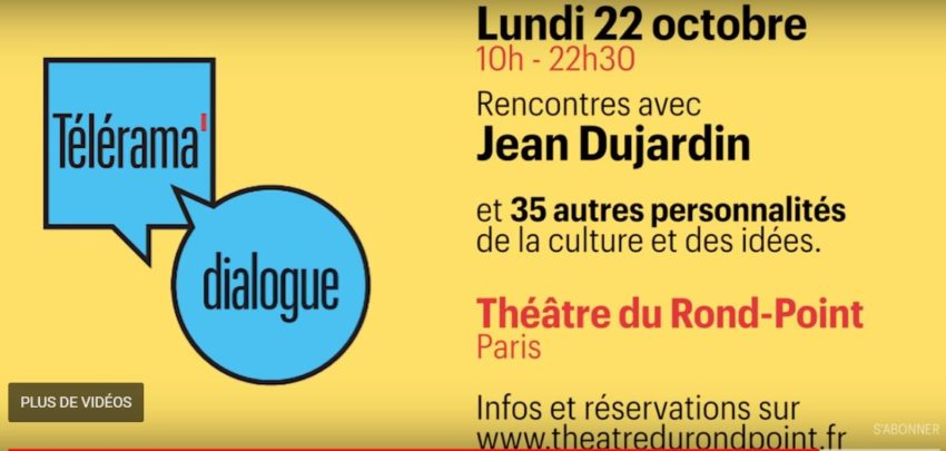 Rencontre avec Jean Duardin Télérama Dialogue 6