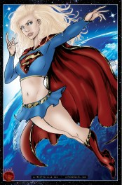 Supergirl Space Color Lowrez