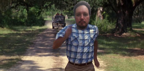 Run, Alfred! Run!