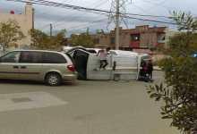 Photo of Ladrón se vuelca con la camioneta robada