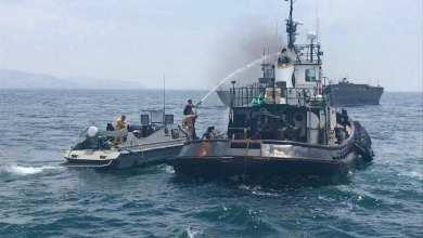Photo of Marina salva a 4 estadunidenses tras incendiarse su embarcación en Ensenada