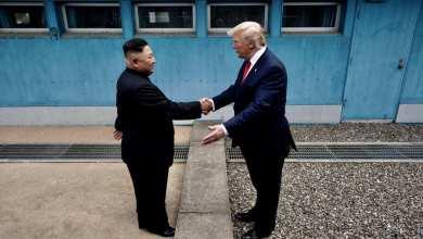 Photo of Trump, primer presidente en pisar Corea del Norte