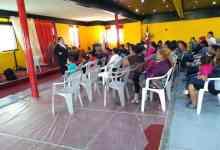 Photo of Imparte PGJE platicas de prevención del delito a migrantes en albergue