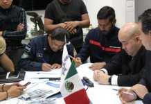 Policía Federal y Guardia Nacional de México