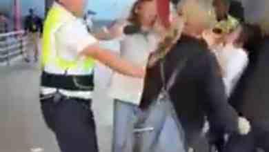 Photo of VIDEO: Se arma zafarrancho en Aeropuerto de Tijuana