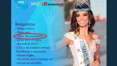 Photo of Acusan transfobia en concurso de Miss Nuevo León