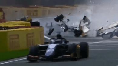 accidente den Fórmula 2 por accidente