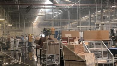 Photo of Desalojan cientos de empleados en fábrica por conato de incendio