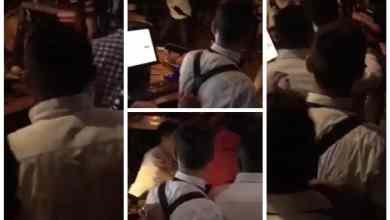 Photo of VIDEO: Violenta riña en bar del centro tras juego de Xolos
