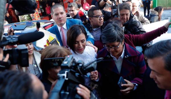 Rosario Robles detenida