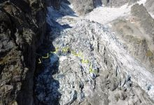 Photo of Cierran vía a la montaña por deshielo