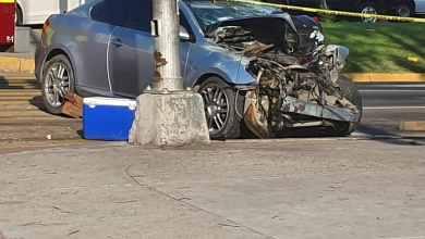Photo of En fuerte choque muere policía municipal de Tijuana