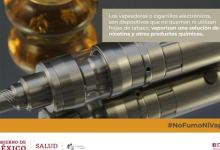 """Photo of Secretaría de Salud alerta a usuarios de """"vapeadores"""" por daño pulmonar"""