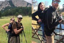 Photo of Juntos escalan montañas; ella no camina y él no mira