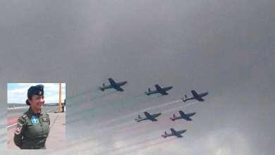 Photo of Mujer piloteará avión por primera vez durante desfile militar