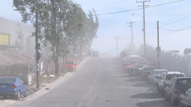 Condición Santa Ana en Tijuana