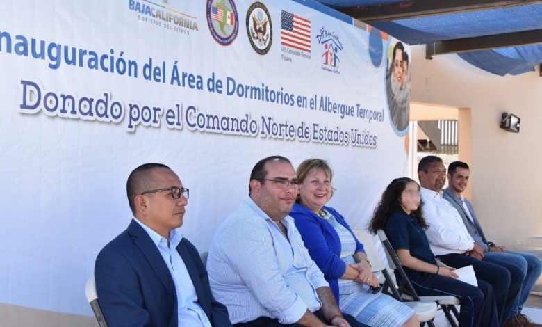 Consulado Americano y el Comando Norte entregan donativo a DIF
