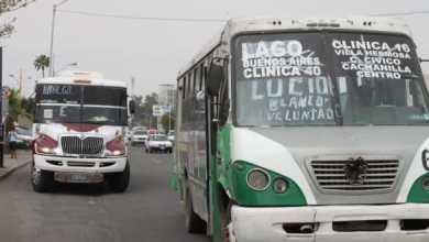 Photo of Suspenden transporte público en Mexicali por Halloween