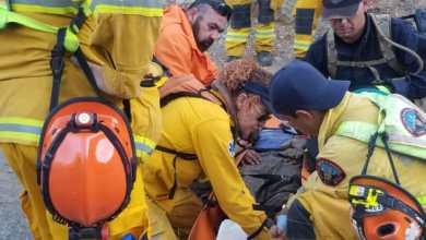 Photo of BorStar de Bomberos Tijuana rescata a migrante