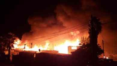 Photo of Voraz incendio destruye varias casas en Tijuana