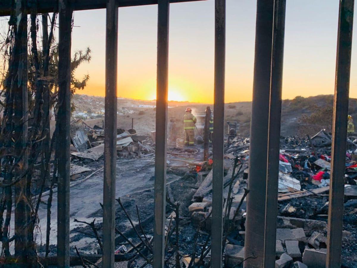 Provados los incendios de Tijuana