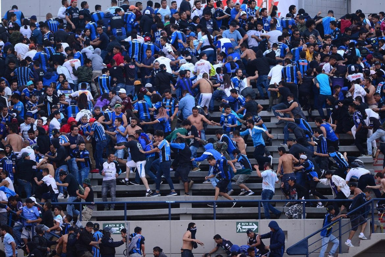 Disturbios en Estadio