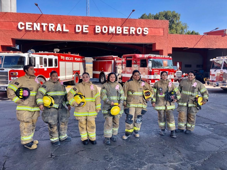 Mujeres de la dirección de Bomberos realizaron guardia de 24 horas