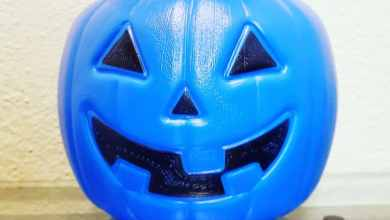 Photo of Ojo en Halloween si ves una calabaza azul