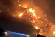 Photo of Rosarito bajo intensa amenaza de los incendios, impresionantes fotos