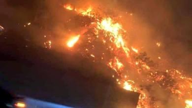 Photo of Rosarito bajo intensa amenaza de los incendios, impresionantes fotos
