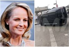 Photo of Helen Hunt sufre aparatoso accidente
