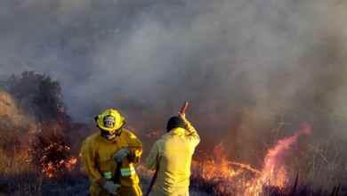Photo of Bajo control incendios en Rosarito