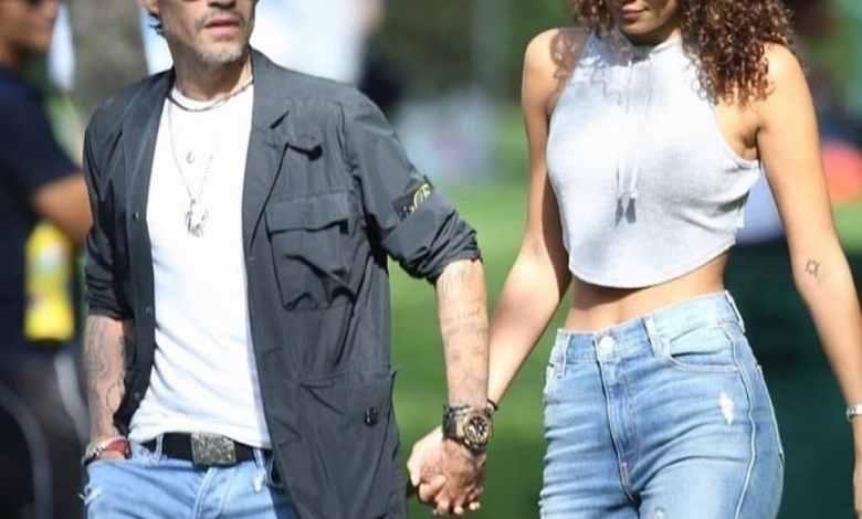 Photo of Ella es Jessica Lynne novia de Marc Anthony y 23 años menor que él