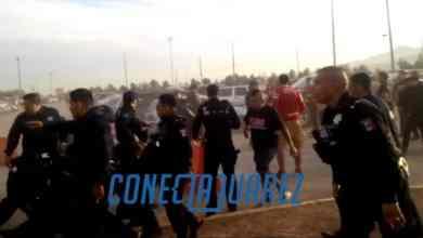 Photo of Guerra campal entre porras de Tijuana y Juárez
