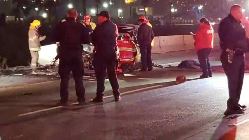 Tres muertos dejó un fuerte accidente