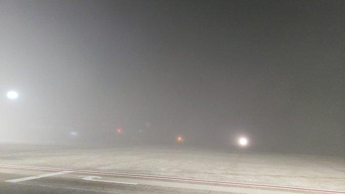 cerrado por neblina aeropuerto de Tijuana
